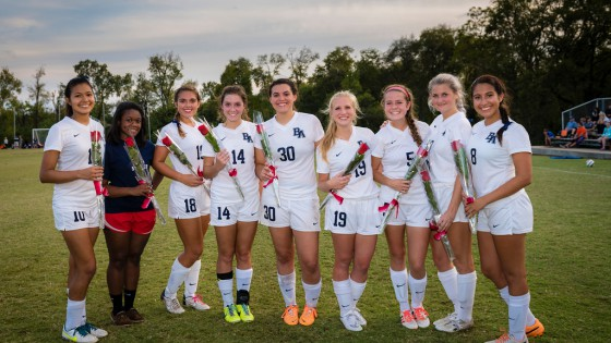GirlsSoccerSeniorNight